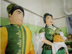 Надувные татары – Современные украшения на Сабантуй