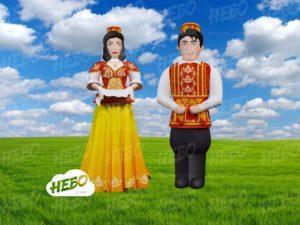 Надувные татары – оформление на Сабантуй