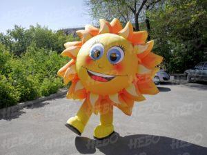 Надувной костюм Солнышко для промоакций