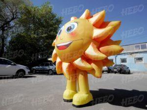 Надувной костюм Солнышко для рекламы