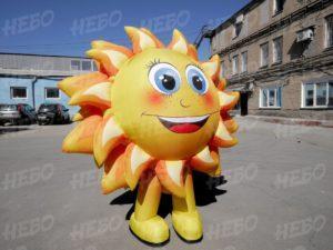 Надувной костюм Солнышко для театра