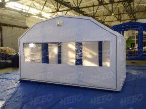 Пневмомодуль – надувная судейская палатка – ПКМ-Н14