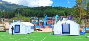 Пневмомодуль – надувная судейская палатка – ПКМ-Н14 Архыз