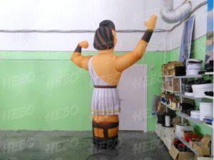 Фигура надувной грек с машущей рукой