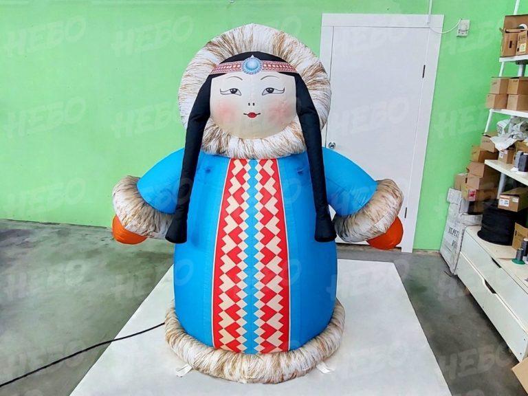 Надувная фигура Якутка