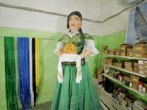 Надувная фигура татарка