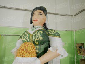 Надувная татарка