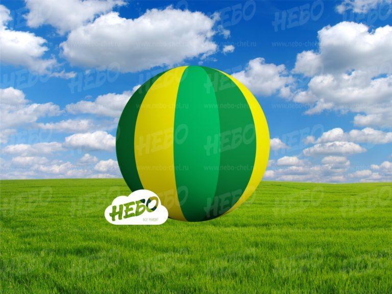 Надувной мяч для оформления интерьера