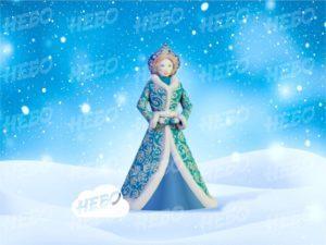 Надувная Снегурочка Премиум