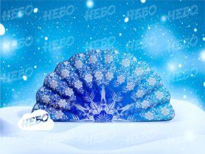 Надувная фигура Веер – новогоднее оформление