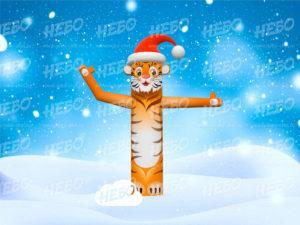 Надувной тигр зазывала