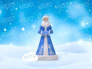 Новогодняя надувная Снегурочка