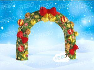 Новогодняя надувная арка Рождество
