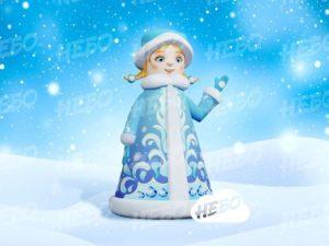 Надувная внучка Снегурочка